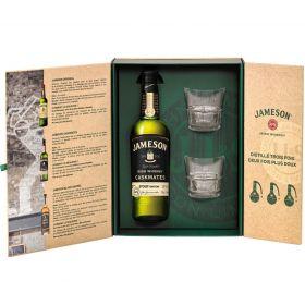 Coffret Jameson Caskmates Stout avec 2 verres